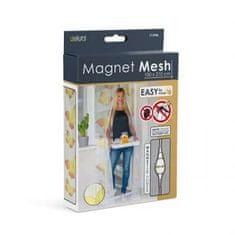 """Delight Magnetna mreža proti komarjem za vrata 100 x 210 cm - """"rumeni metulji"""""""
