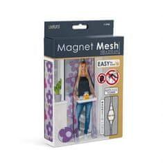 """Delight Magnetna mreža proti komarjem za vrata 100 x 210 cm - """"rože"""""""
