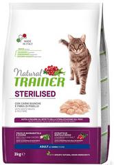 TRAINER Natural Cat Sterilised hydinové mäso 3kg