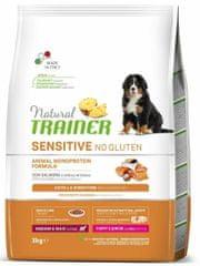 TRAINER Natural Sens.No glut.Pup&Jun M/M losos 3 kg