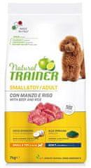 TRAINER Natural Small&Toy Ad. Marhahús és rizs 7kg