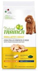 TRAINER Natural Small&Toy Ad. baromfi és rizs, 7kg