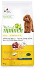 TRAINER Natural Small&Toy Ad. Prosciutto és rizs 7kg