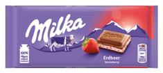 MILKA čokoláda jahoda jogurt 100g (bal. 22ks)