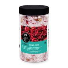 Orient House Kúpeľová soľ z Mŕtveho mora s arganovým olejom a ružou 360g