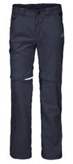 Jack Wolfskin dječje hlače sa patentnim zatvaračima Safari Zip Off Pants Kids 1605871