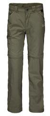 Jack Wolfskin dětské kalhoty s nohavicemi na zip Safari Zip Off Pants Kids 1605871_1
