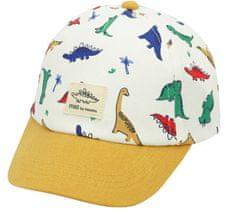 Maximo czapka chłopięca z dinozaurami