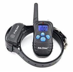 Petrainer Elektronický obojek vodotěsný PET998DBB / výcvikový obojek