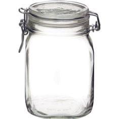 Bormioli Rocco Zavařovací sklenice Fido 1 l patentní obloučkový uzávěr, 6x