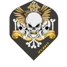 Designa Letky 3 Skull Crest F0892