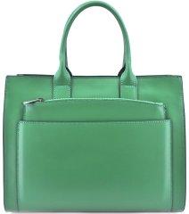 Arteddy Dámská kožená kabelka Arteddy - zelená