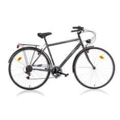 Aurelia 28 treking muški bicikl, crni