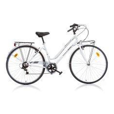 Aurelia 28 treking ženski bicikl, bijeli