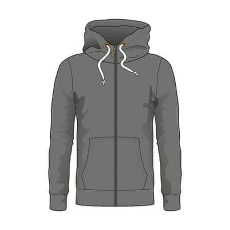 Northfinder Bronky muška jakna, s patentom, siva, XXL