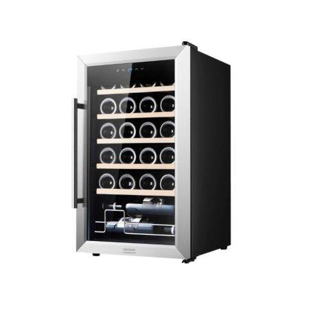 Cecotec GrandSommelier 24000 vinska vitrina, s kompresorjem, inox