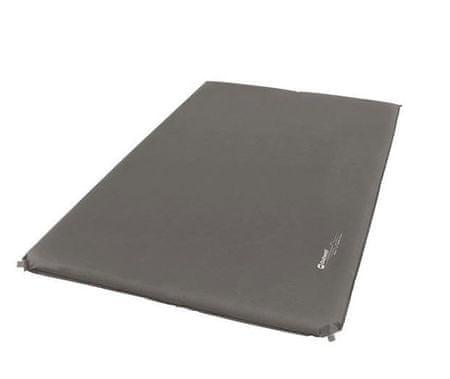 Outwell samonapuhavajući jastuk, dvostruki, 7,5 cm, sivi
