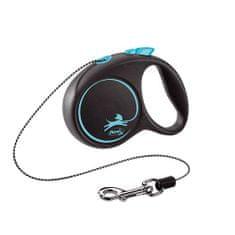 Flexi Black Design XS lanko 3m modrá do 8kg