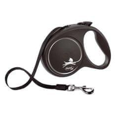 Flexi Black Design L popruh 5m čierna do 50kg