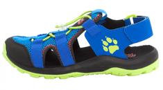 Jack Wolfskin chlapecké outdoorové sandály Outdoor Action Sandal Kids 4038791