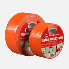Den Braven Fasádní páska STRONG, 50 mm x 50 m, oranžová