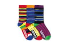 United Odd Socks Veselé ponožky Blaze 3ks veľ.: 31-39