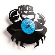 Disc'O'Clock Designové nástěnné hodiny Discoclock Z04 Rak 30cm