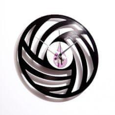 Disc'O'Clock Designové nástěnné hodiny Discoclock 005 Pure Wool 30cm