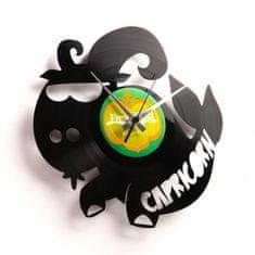 Disc'O'Clock Designové nástěnné hodiny Discoclock Z10 Kozoroh 30cm