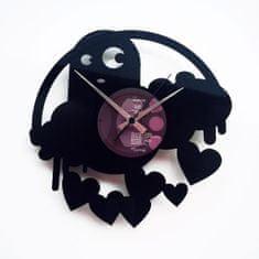 Disc'O'Clock Designové nástěnné hodiny Discoclock 061 Strašidlo lásky 30cm