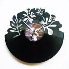Disc'O'Clock Designové nástěnné hodiny Discoclock 060 Hawai 30cm
