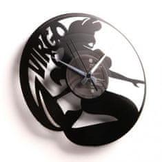 Disc'O'Clock Designové nástěnné hodiny Discoclock Z06 Panna 30cm