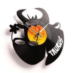 Disc'O'Clock Designové nástěnné hodiny Discoclock Z02 Býk 30cm