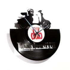 Disc'O'Clock Designové nástěnné hodiny Discoclock 033 Lambretta 30cm