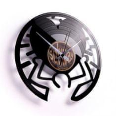 Disc'O'Clock Designové nástěnné hodiny Discoclock 048 Keith 30cm