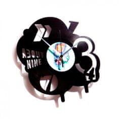 Disc'O'Clock Designové nástěnné hodiny Discoclock 002 Pop 30cm