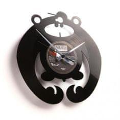 Disc'O'Clock Designové nástěnné hodiny Discoclock 037 King of the bongo 30cm