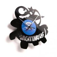 Disc'O'Clock Designové nástěnné hodiny Discoclock Z09 Střelec 30cm