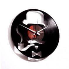 Disc'O'Clock Designové nástěnné hodiny Discoclock 013 Harry 30cm