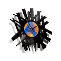 Disc'O'Clock Designové nástěnné hodiny Discoclock 016 Big bang 30cm