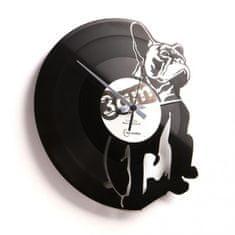 Disc'O'Clock Designové nástěnné hodiny Discoclock 038 Hugo 30cm