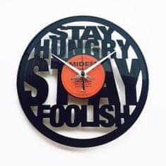 Disc'O'Clock Designové nástěnné hodiny Discoclock 065 Hungry 30cm