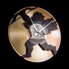 Disc'O'Clock Designové nástěnné hodiny Discoclock 032GB Eros 30cm