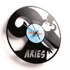 Disc'O'Clock Designové nástěnné hodiny Discoclock Z01 Beran 30cm