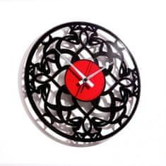 Disc'O'Clock Designové nástěnné hodiny Discoclock 031 Deco 30cm