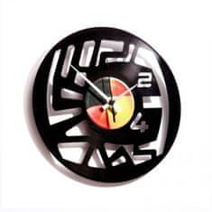 Disc'O'Clock Designové nástěnné hodiny Discoclock 006 Numbers 30cm
