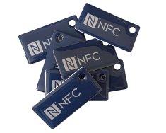 Mave 5 kos Elegantnih NFC obeskov s čipom NTAG213