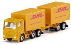 SIKU Blister 1694 DHL kamion s prikolicom