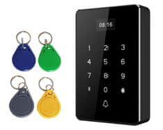 Mave RFID Kontrola dostopa z možnostjo izvoza podatkov preko USB - ohišje črne barve, 5 kos barvnih RFID obeskov brezplačno
