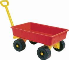 Androni Zahradní vozík červený, 52 cm